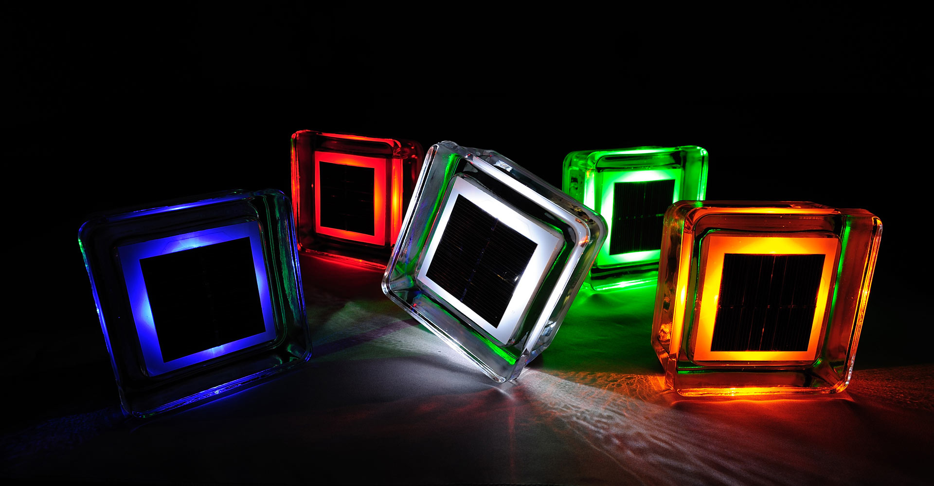 special lighting. no need for wiring all you is using rooster designed special light case the solar glass brick can be installed easily by anyone without lighting t